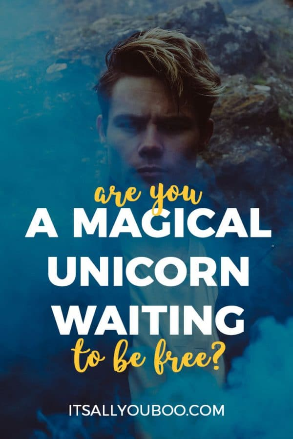 Are you a magical unicorn waiting to be free?