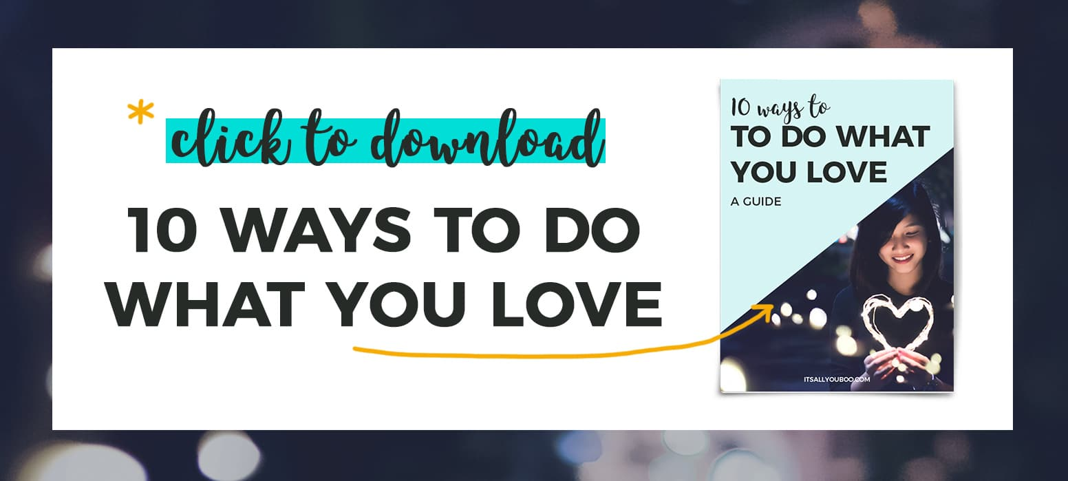 *Click to download Do What You Love Guide with preview image of guide book