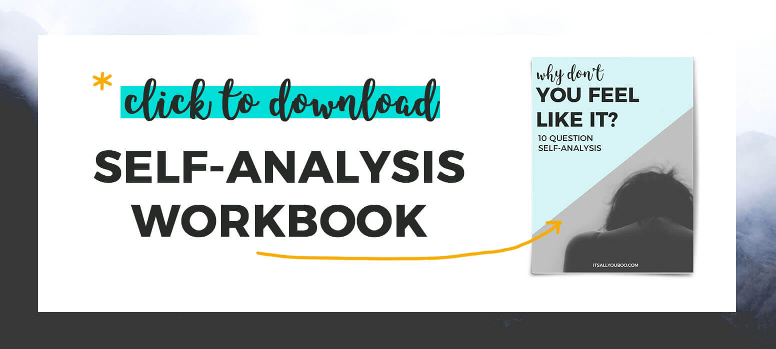 *Click to download self-analysis workbook