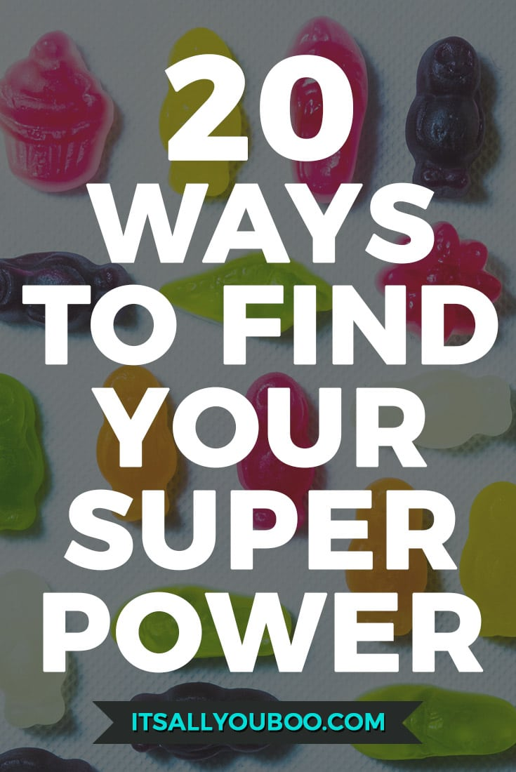 Do you know what your Superpower is?⚡️ Can you name it? Describe it? Here are 20 ways to find what makes you magically unique!