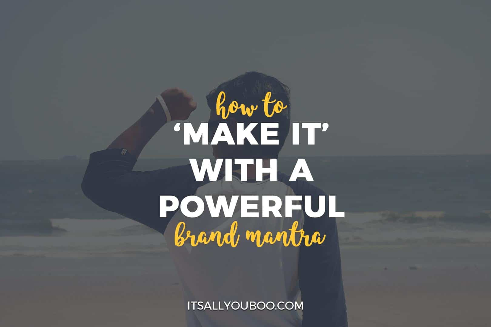 how to create your personal brand