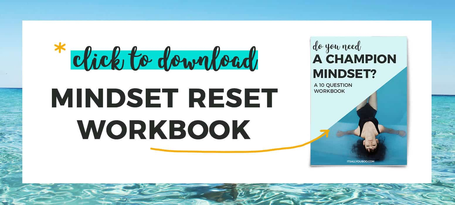 Get your mindset reset workbook