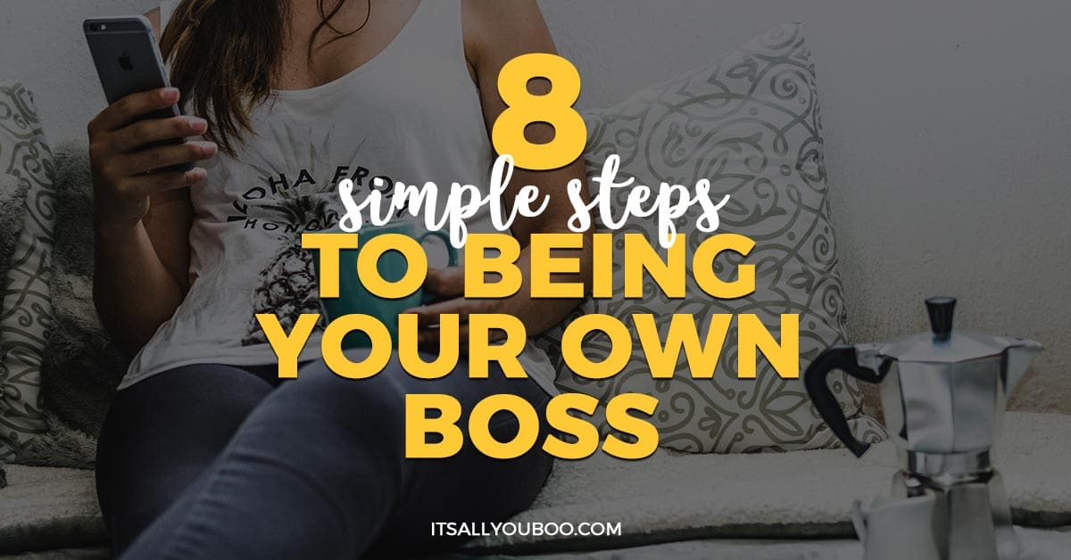 being your own boss essay Advantages & disadvantages of being your own boss by beverley lee - updated september 26, 2017 starting a business is an exciting, challenging and risky prospect.