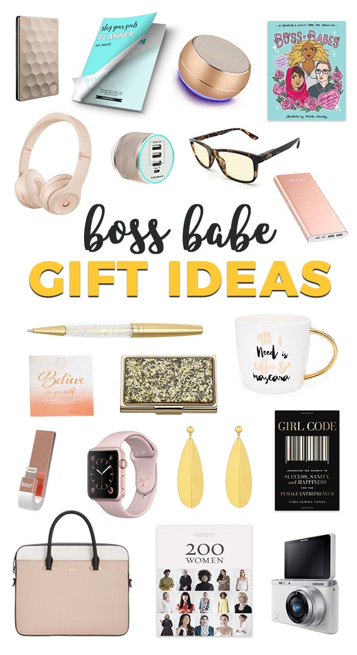 gift ideas for the boss babe in your life | it's all you boo