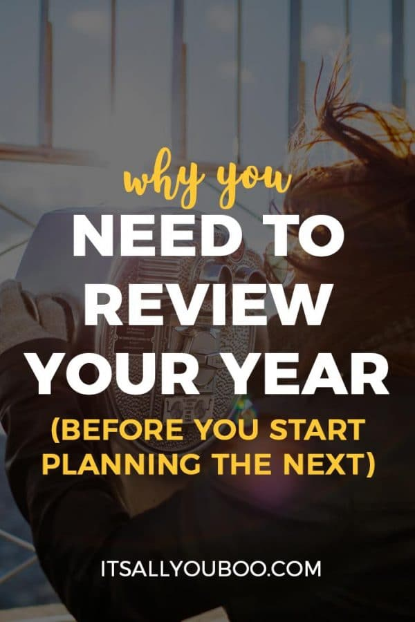 Why You Need to Review Your Year (Before You Start Planning the Next)