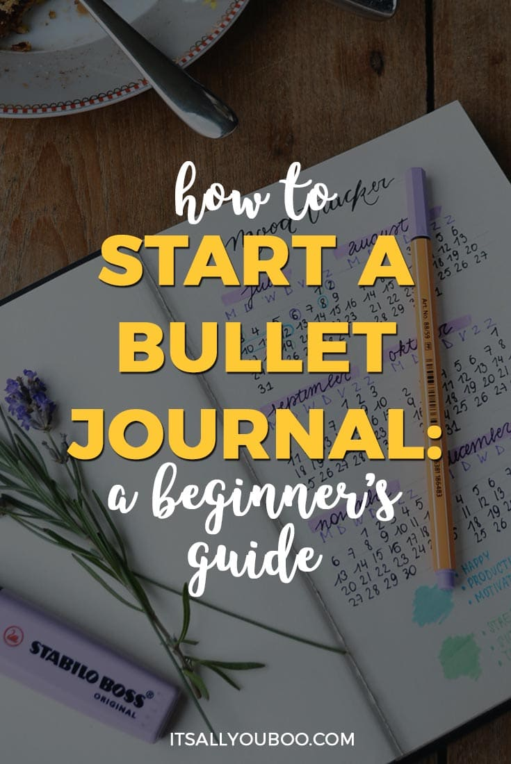 Do you want to know how to start a bullet journal? Looking for inspiration for your bullet journal layout and setup? Click here for your beginner's guide to bullet journaling, with ideas for pages, pens, journals and more. #bulletjournal #bulletjournaling #bulletjournaljunkies #bulletjournalcommunity #bulletjournallove #planning #planningahead #planningtime #journaladdict #journaling #journal #journallove #millennial #millennialblogger