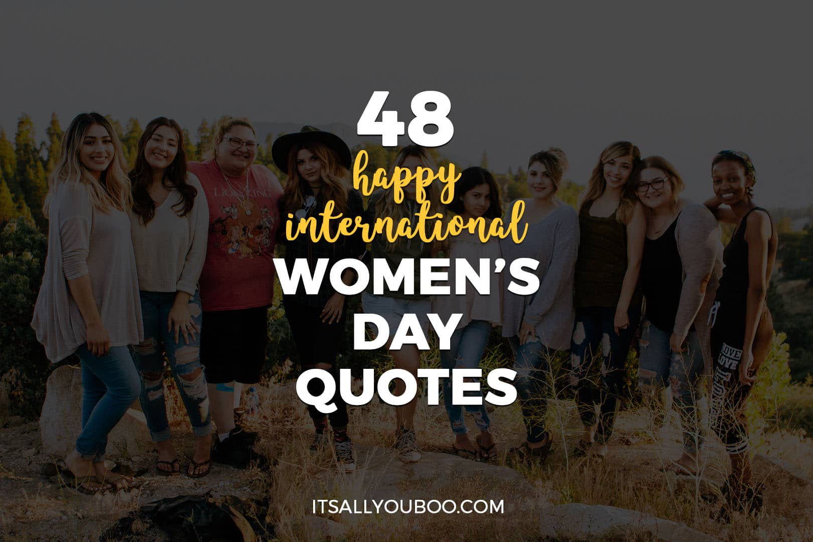48 Happy International Women's Day Quotes
