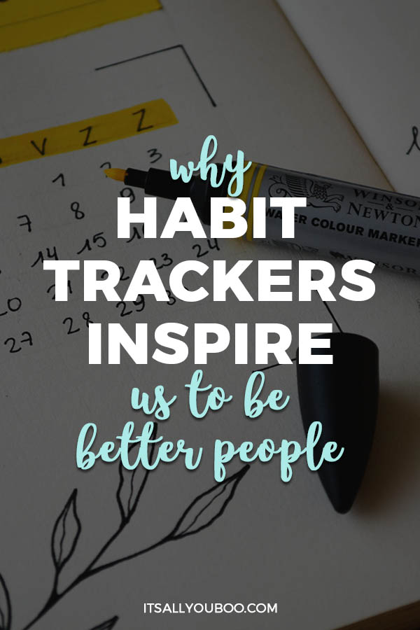 Ready to start forming new habits? Creating daily habits is how you achieve your goals. Click here to learn why habit trackers inspire us to be better one day at a time. Plus, get your FREE Printable Habit Tracker Templates. #habits #routine #printable #freeprintable #mindset #success #selfimprovement #personalgrowth #selfhelp #routines #balance #productivity #timemanagement #growthmindset #millennialblogger #millennials