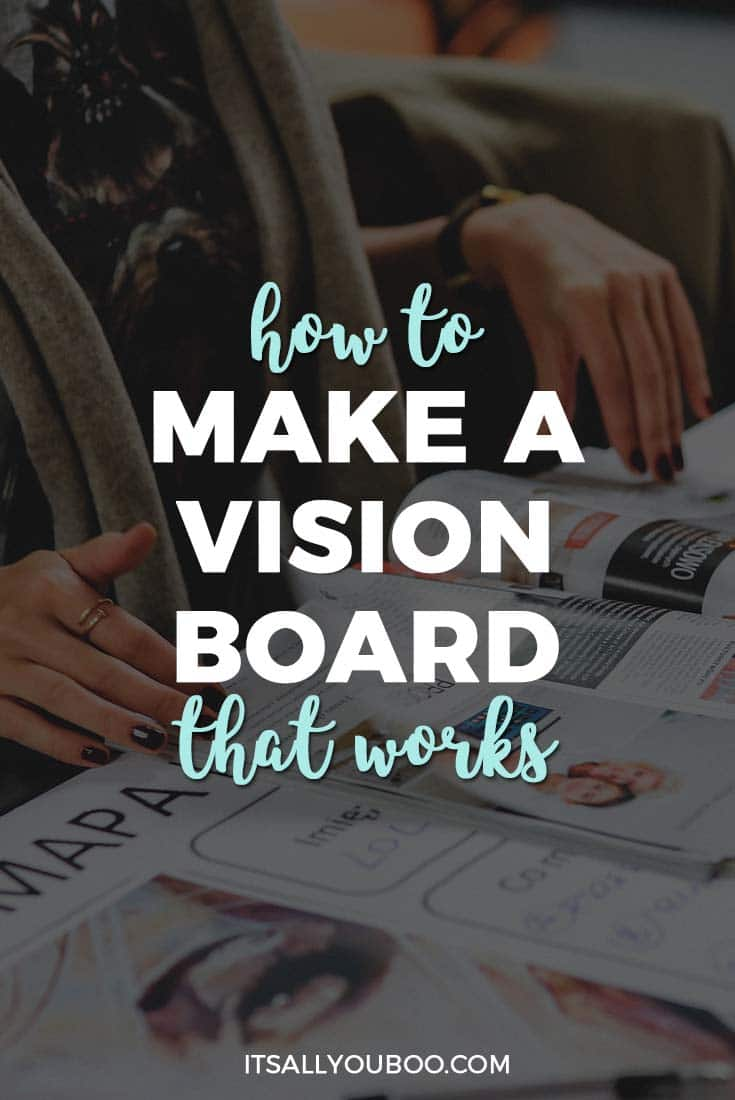 Do you wonder how to create a vision board that works? Here's how to manifest your intentions and activate the law of attraction, including ideas for a DIY vision board. #visionboard #goals #visualization #dreams #aspirations #manifest #positivity #loa #affirmations #AbrahamHicks #lawofattraction #positivemindset #affirm #believe #affirm #manifestlove #manifestmoney #vibration #energy #goalsetting #intentions #lifeplanning #goalsetter