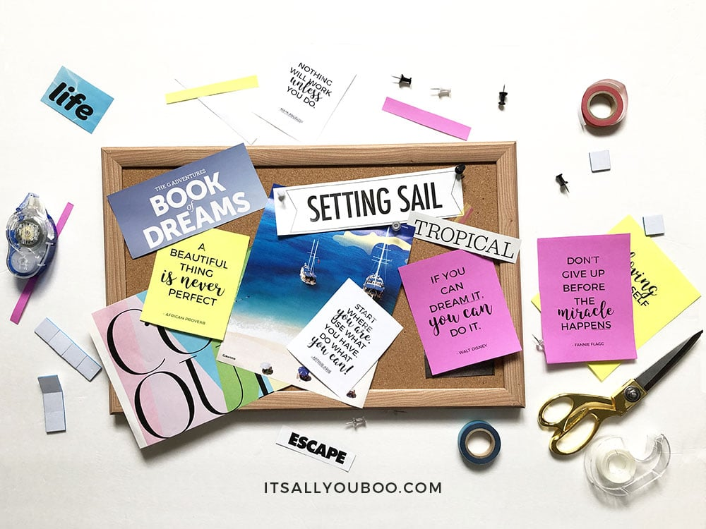 How to Make a Vision Board that Works, Step 5