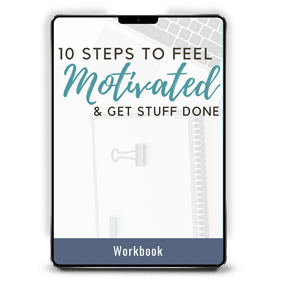 10 Steps to Feel Motivated