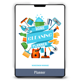 Home Cleaning Planner