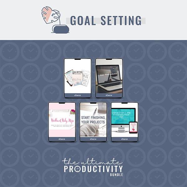 Goal Setting, Ultimate Productivity Bundle
