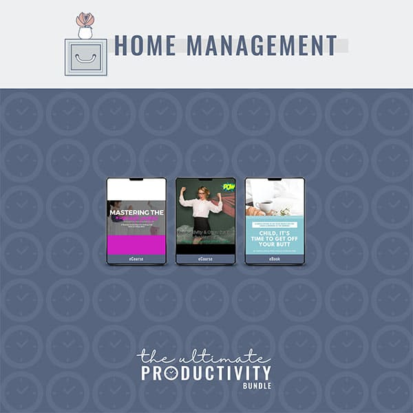 Home Management, Ultimate Productivity Bundle
