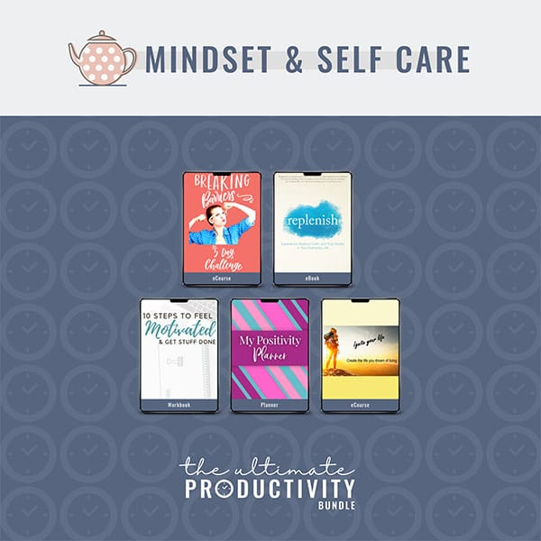 Mindset & Self-Care Ultimate Productivity Bundle