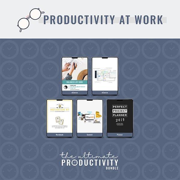 Productivity at Work, Ultimate Productivity Bundle