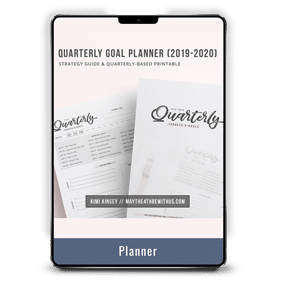Quarterly Targets & Goals Tracking