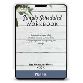 Simply Scheduled Workbook