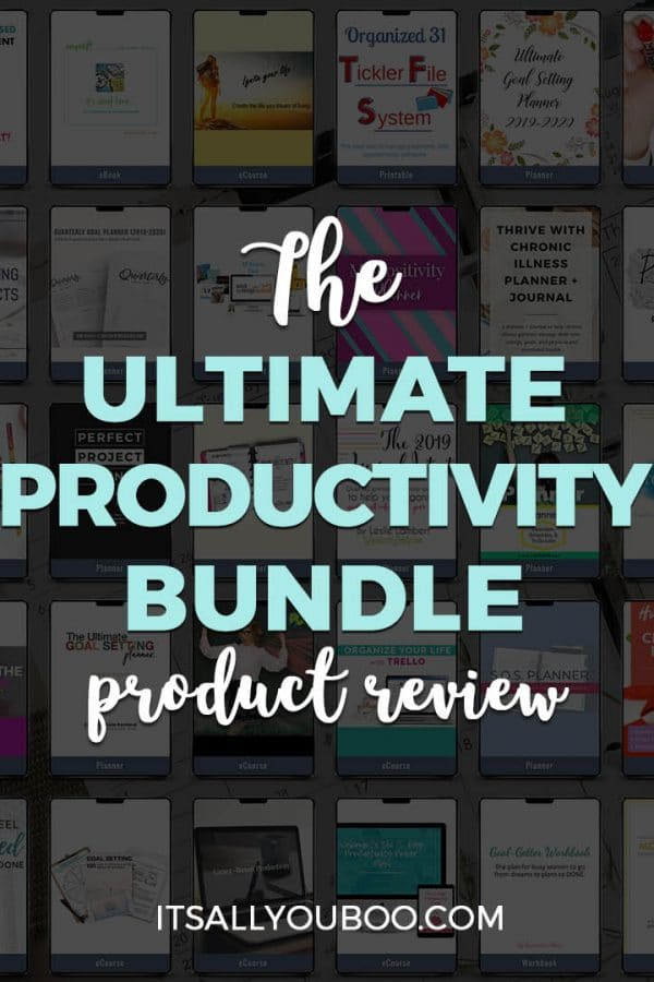The Ultimate Productivity Bundle 2019 Review