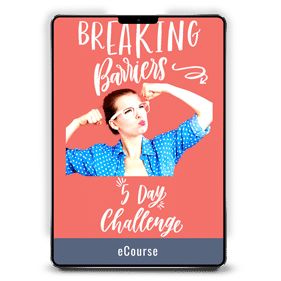 The Breaking Barriers Challenge
