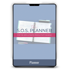 The S.O.S. Planner