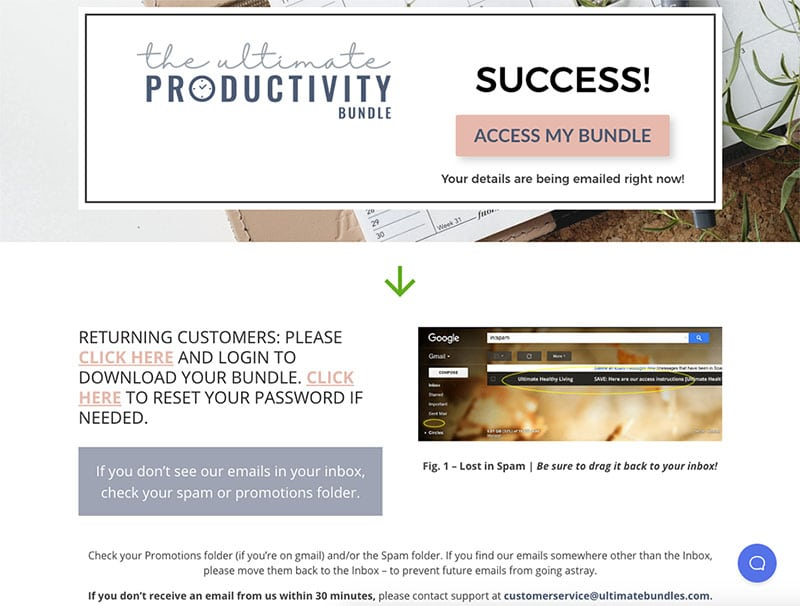 Buying the ultimate productivity bundle 2019