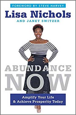 best personal development books - Abundance Now by Lisa Nichols