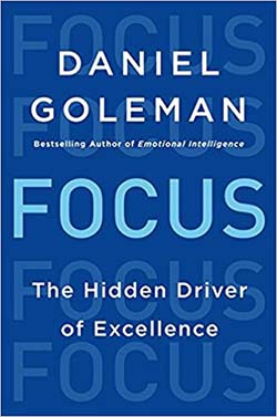 Focus by Daniel Goleman - best personal development books