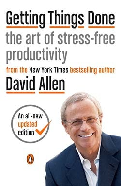 best productivity books - Getting Things Done by David Allen