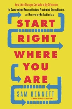 best personal development books- Start Right Where You Are by Sam Bennett