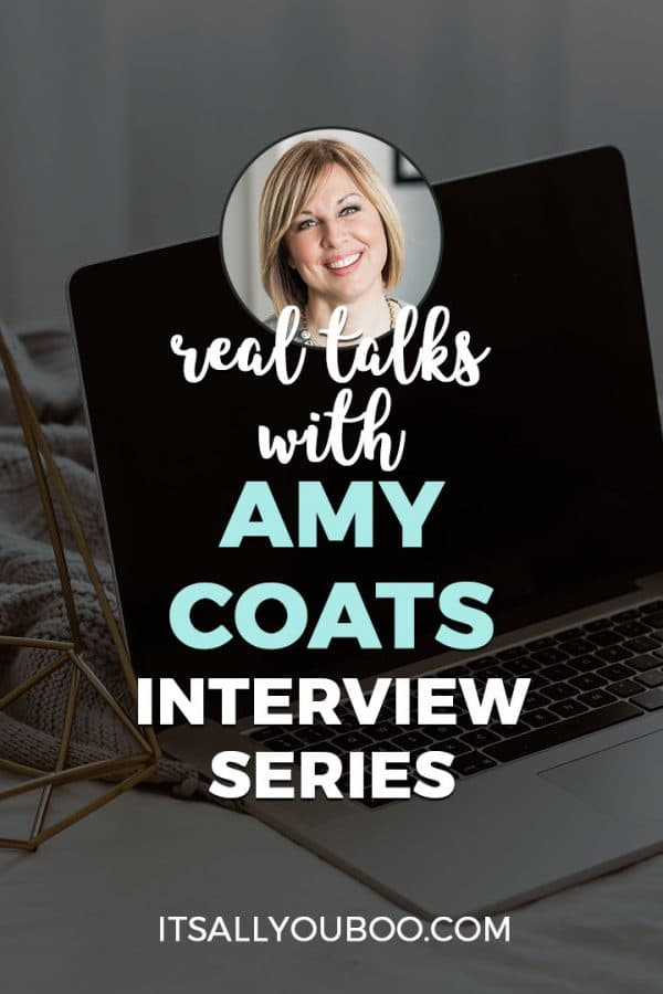 Real Talks with Amy Coats