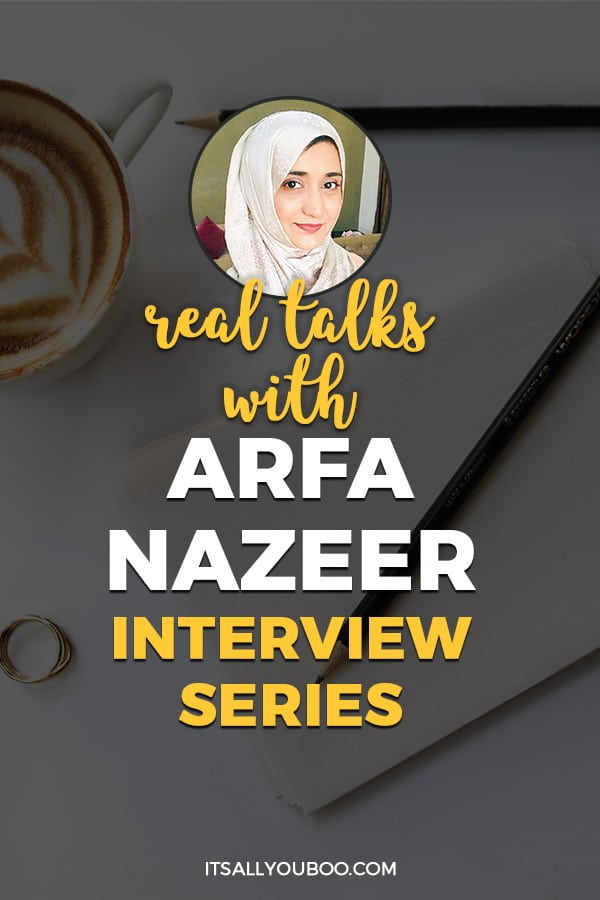 Real Talks with Arfa Nazeer Interview Series