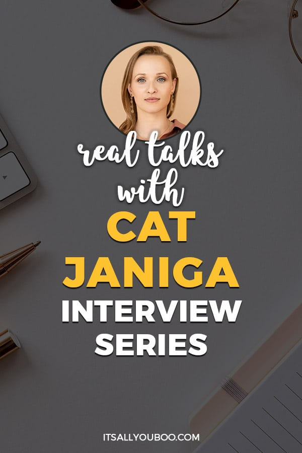 Real Talks with Cat Janiga of Cat Janiga Jewellery