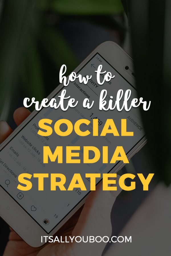 How to Create a Killer Social Media Strategy