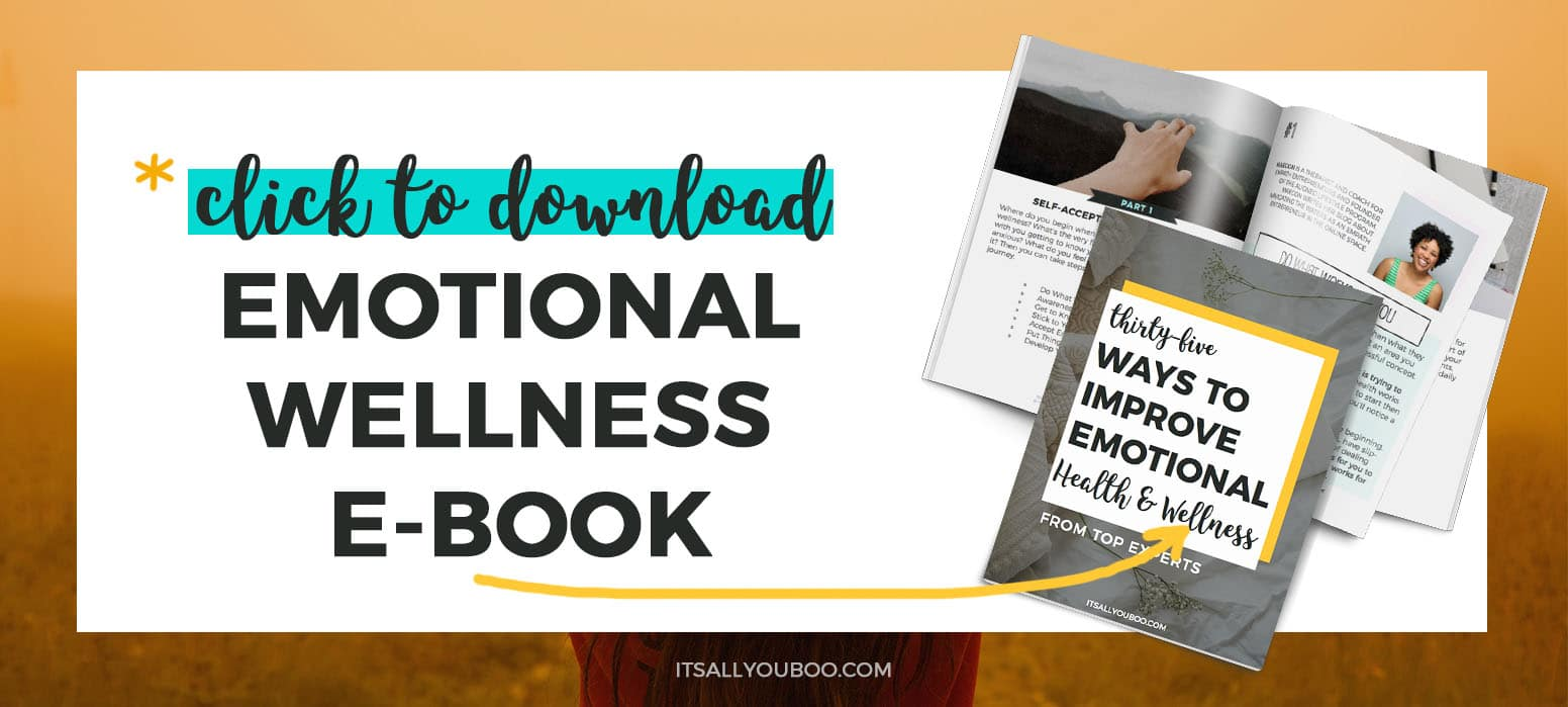 Get your FREE Improving Emotional Wellness eBook