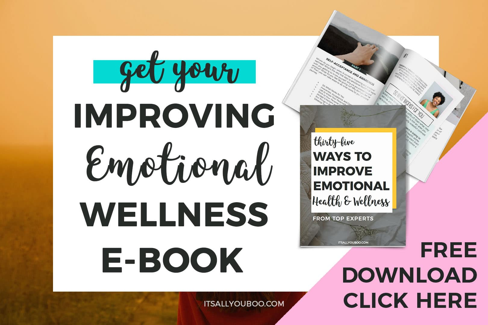 Get your FREE Emotional Wellness eBook