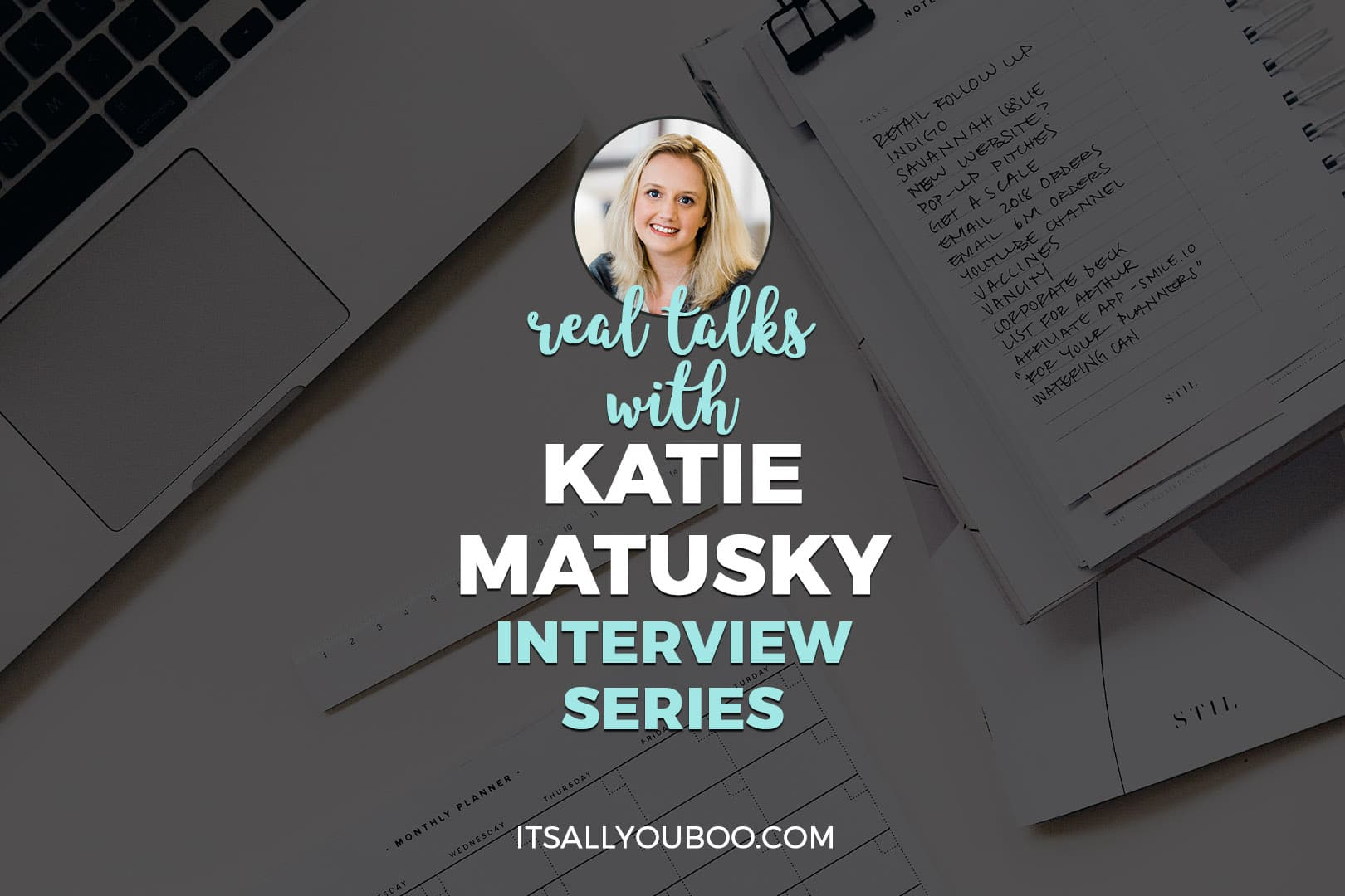 Real Talks with Katie Matusky of Entropy Organized