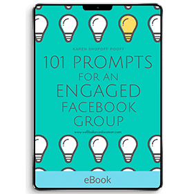 101 Prompts for an Engaged Facebook Group (eBook)