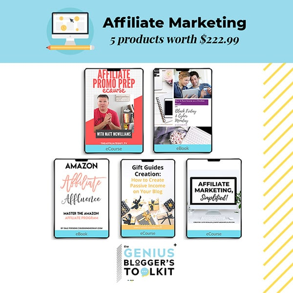 Genius Blogger Toolkit 2019 Review Affiliate Marketing Resources