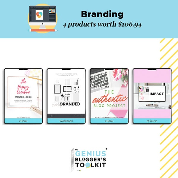 Genius Blogger Toolkit 2019 Review Branding Resources