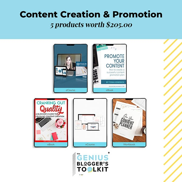 The Genius Blogger Toolkit 2019 Review Content Creation and Promotion Resources