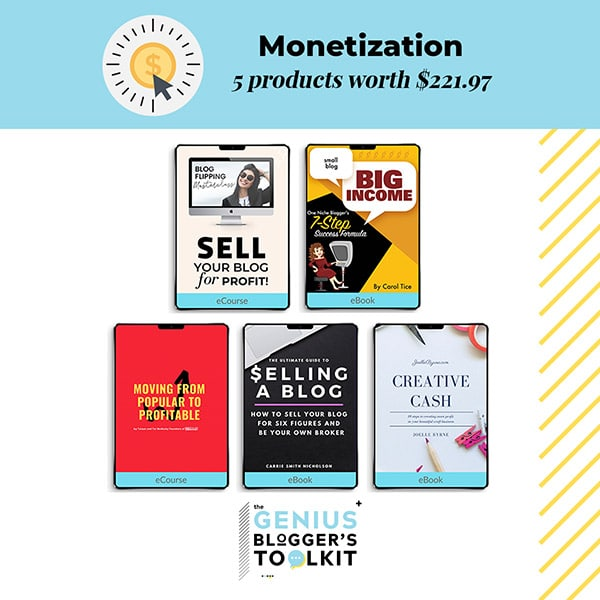 The Genius Blogger Toolkit 2019 Review Monetization Products