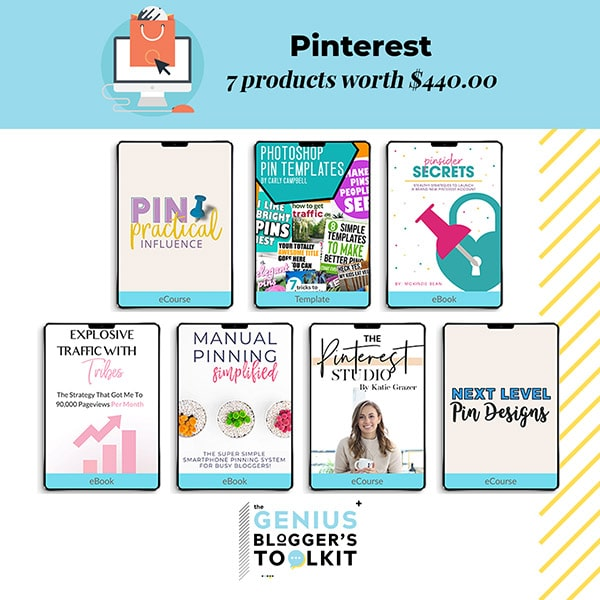 The Genius Blogger Toolkit 2019 Review Pinterest Products