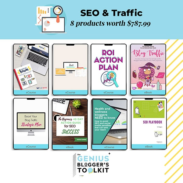 The Genius Blogger Toolkit 2019 Review SEO and Traffic Products