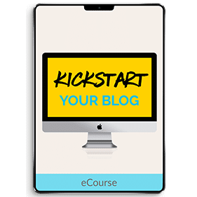 Kickstart Your Blog (eCourse)