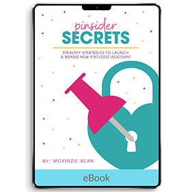 Pinsider Secrets: Strategies To Launch A Brand New Pinterest Account (eBook)