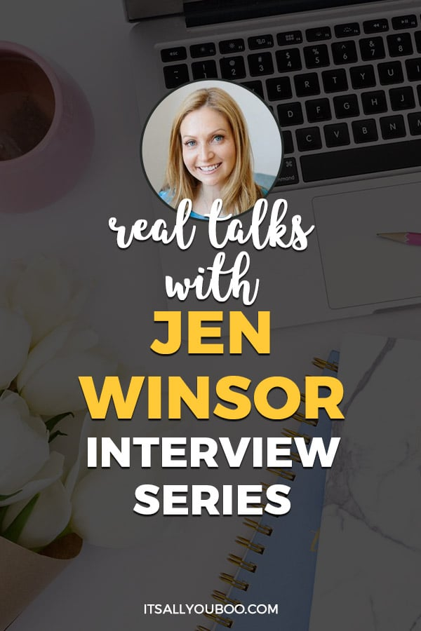 Real Talks with Mindset Coach Jen Winsor