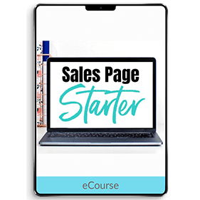 Sales Page Starter (eCourse)