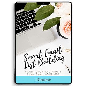 Smart Email List Building (eCourse)