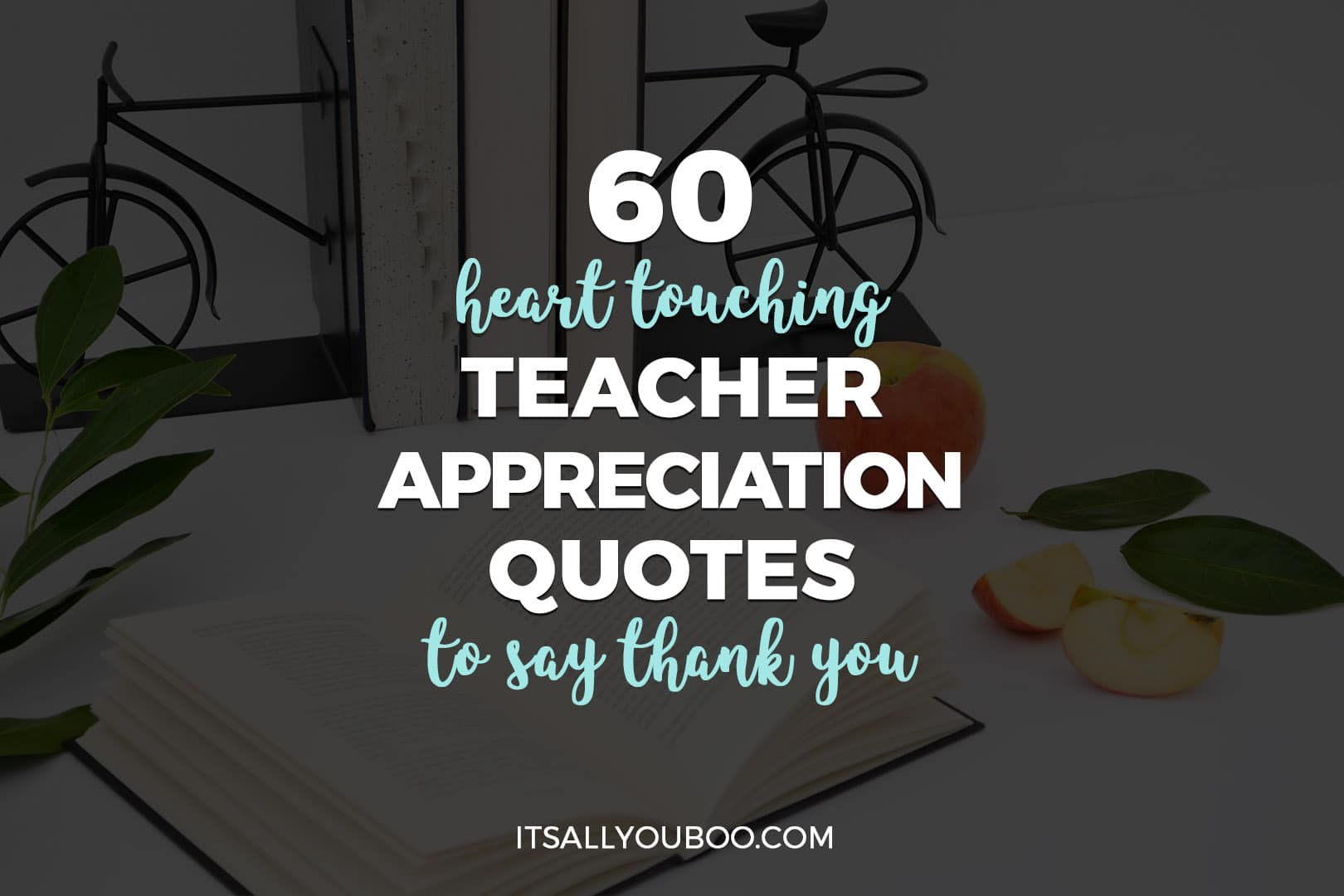 60 Heart Touching Teacher Appreciation Quotes to Say Thank You